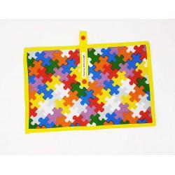 Pizarra Puzzles Amarilla