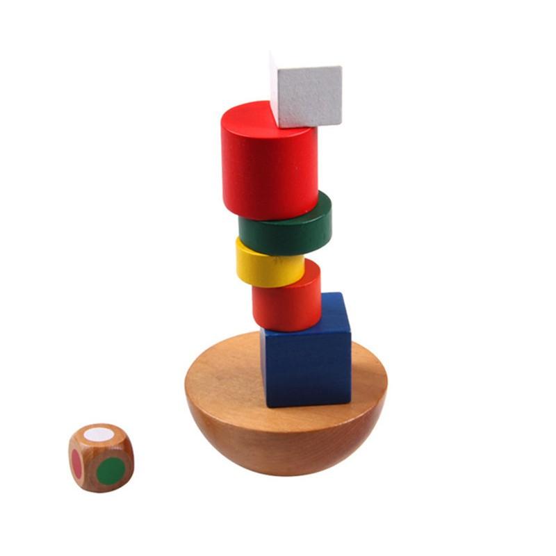 Bloques de Madera Montessori